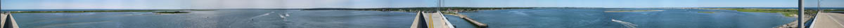 Panorama from Ponquoge Bridge