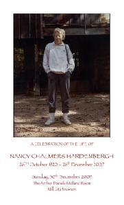 Nancy's Memorial Cover